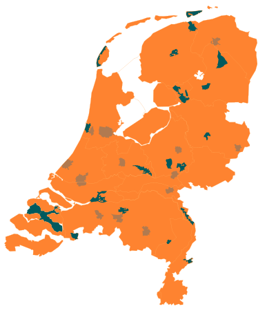 kaart-nederland-Drents-Friese-Wold